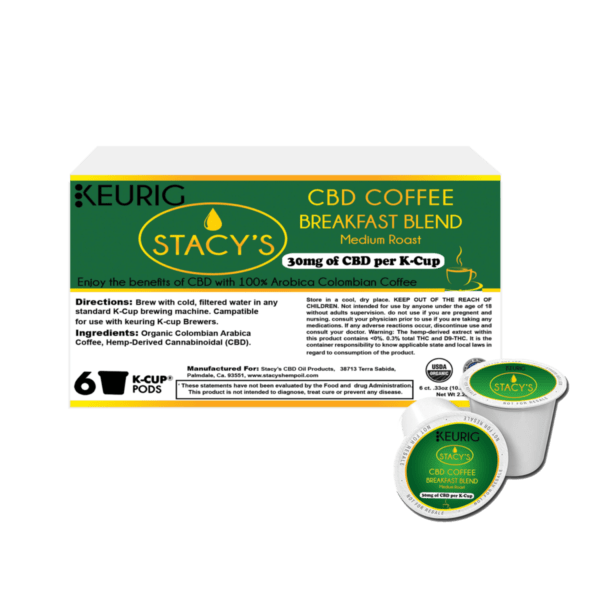 Stacy's CBD Coffee Breakfast Blend