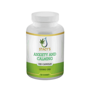 CBD Anti-Anxiety and Calming Capsules